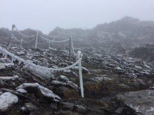 【新聞】玉山僅見霧淞結冰 恐創觀測來初雪最晚紀錄
