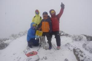 2018.02.03-05 百岳行19之踏雪而來-奇萊南華II
