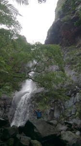 陽明山國家公園最大的瀑布「阿里磅瀑布」