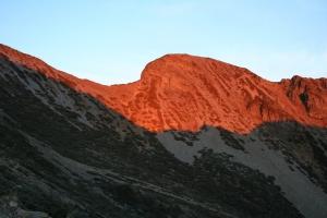 山岳之美-雪山翠池
