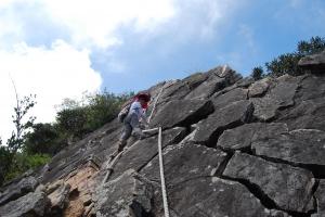 【春夏之際】~~膽識與毅力的挑戰----鳶嘴山
