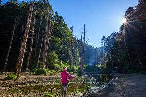 阿溪縱走 -眠月鐵道下水漾森林