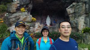 三角崙山 聖母山莊 五峰奇瀑布