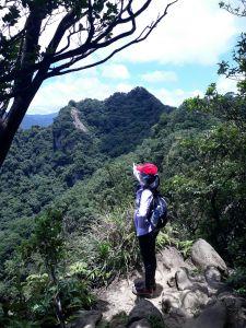 皇帝殿東、西峰
