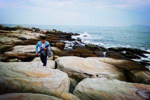 神秘海岸。獅頭山公園 P型 2018.2