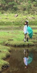 S型的松蘿湖