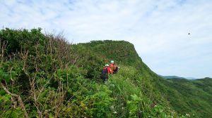 瑪鎖山、海岸山脈稜線O型