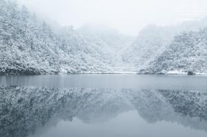 20180206 夢幻般的雪中松蘿湖