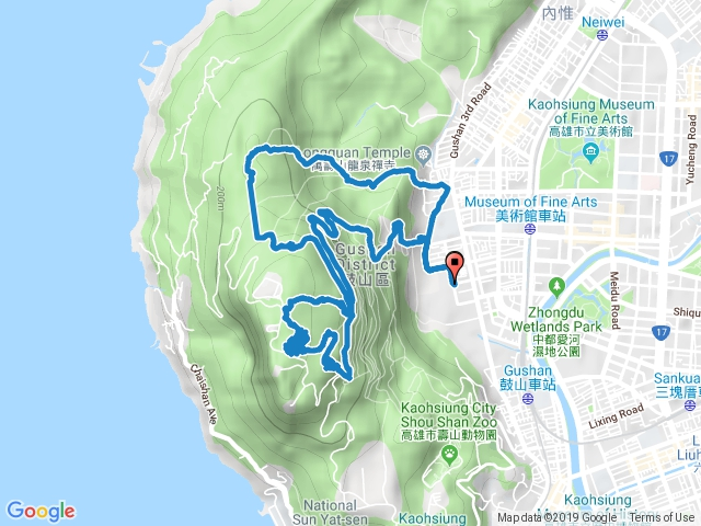 北柴山、壽山、一條龍、大猴洞、靜谷(親子登山)