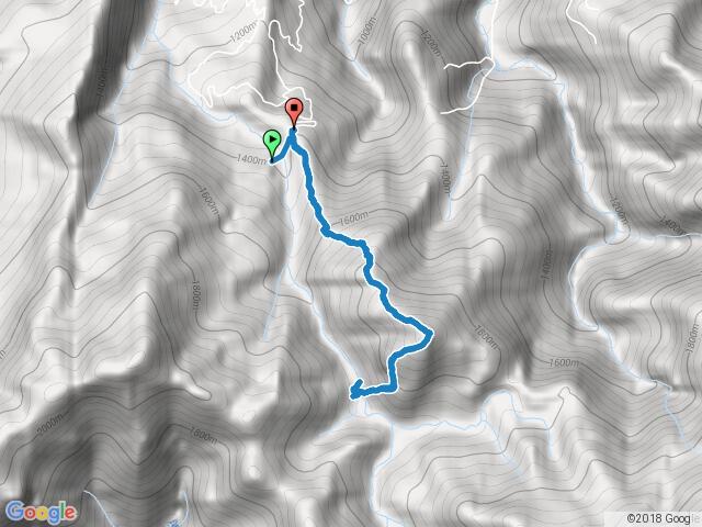 20170827 哈勘尼山下溪谷
