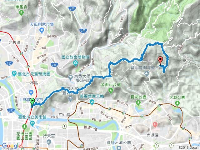 劍潭-內湖8連峰