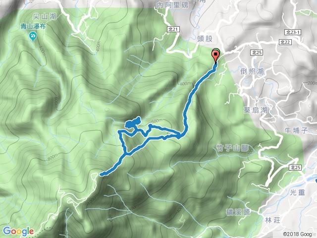2016-10-25 金山區 竹子山古道-竹子山北北峰-阿里磅瀑布