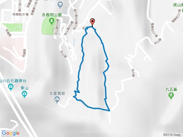 豹山溪步道