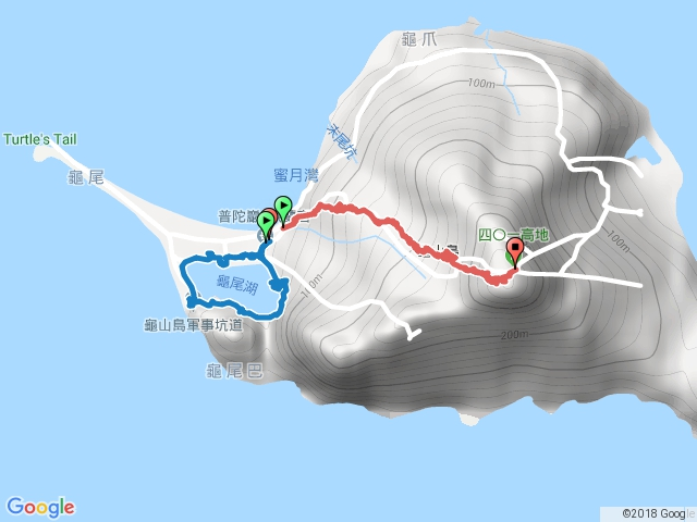 龜山島.龜尾湖.401高地.2017-06-25