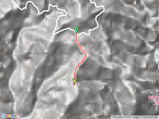 大雪山31.3K屋我尾山登山口