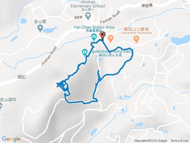 雞冠山自然生態步道