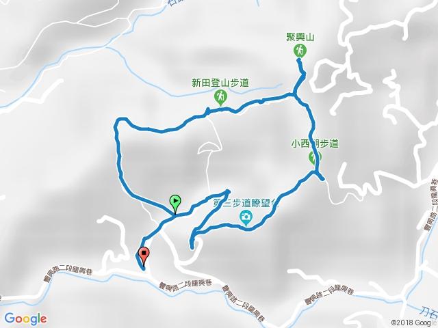 聚興山、新田登山步道