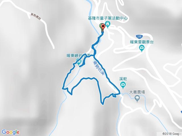 暖東峽谷藍紅線O型20170709