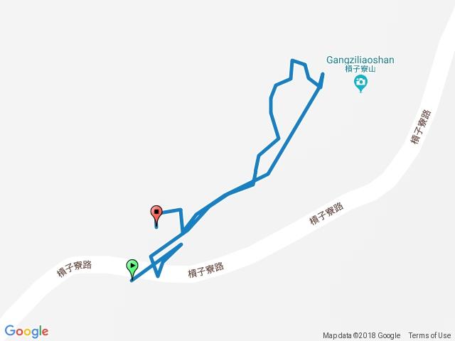 電線桿登山口-槓子寮山 (只要五分鐘) 20180419