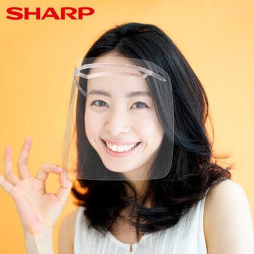 【SHARP夏普】奈米蛾眼科技防護面罩組
