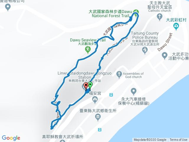 大武觀海步道-O型路線