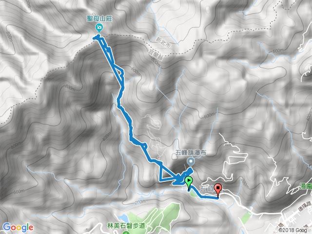 20171023 聖母山莊國家步道