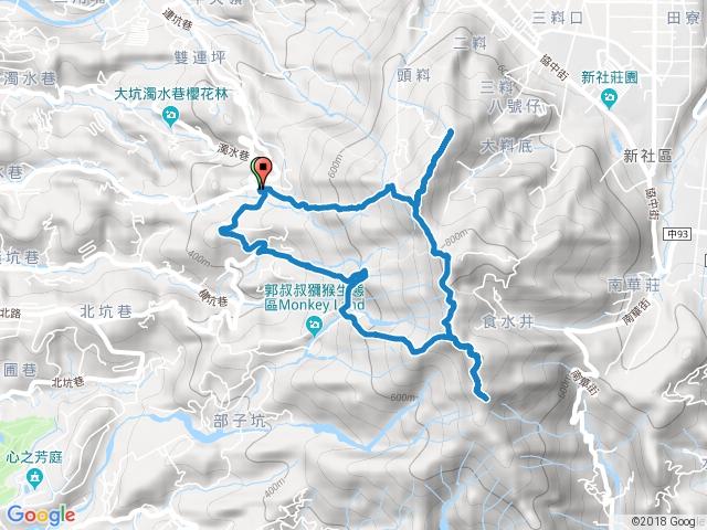 頭嵙山(大坑五號系統)