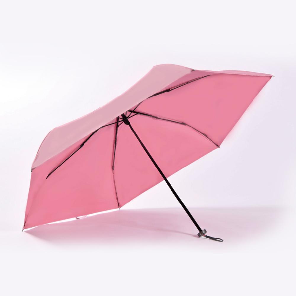 【HOSWA】小巧好攜 極輕量降溫傘(55cm、6色可選、台灣製)3