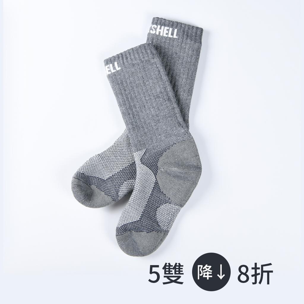 英國【DexShell】超防水 氣墊襪 5雙組(Coolmax®)1