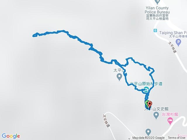 2020-04-11 宜蘭南澳鄉檜木林原始步道+400m 鐵杉林自然步道