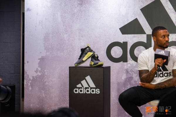 Damian Lillard adidas 忠孝店開幕記者會