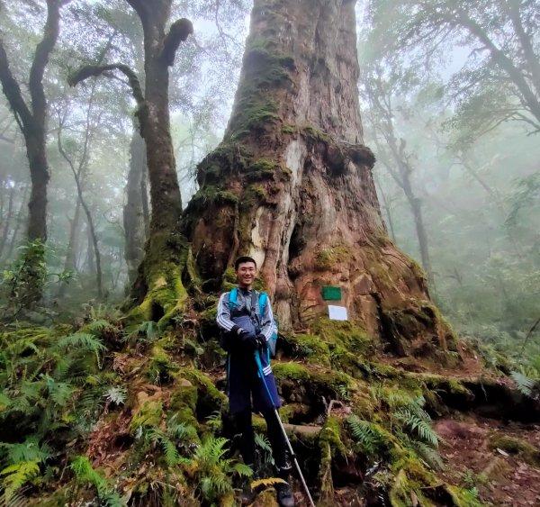2021-013:佐得寒山、南山神木群、米羅山縱走