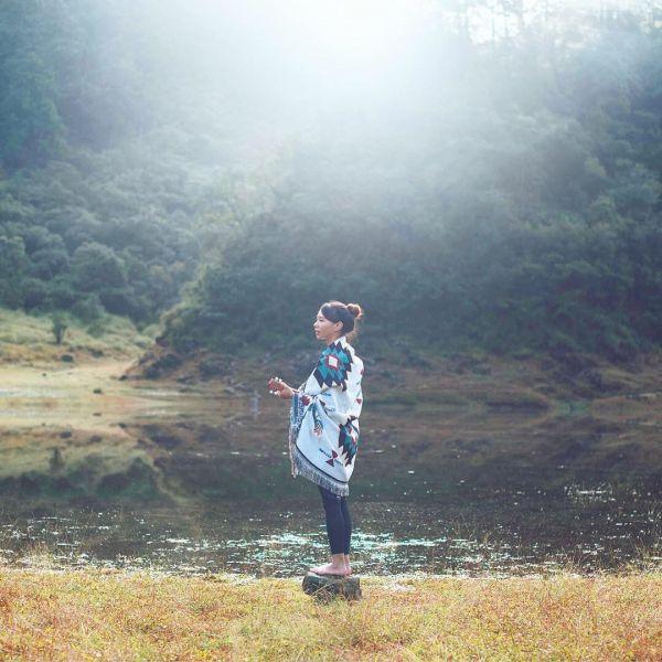 松蘿湖—17歲少女之湖