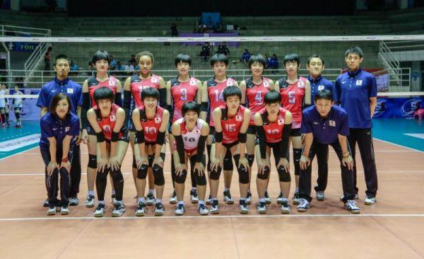 U17 / 第12屆亞洲U17女排落幕,日本蟬聯冠軍七連霸,台灣惜得第五