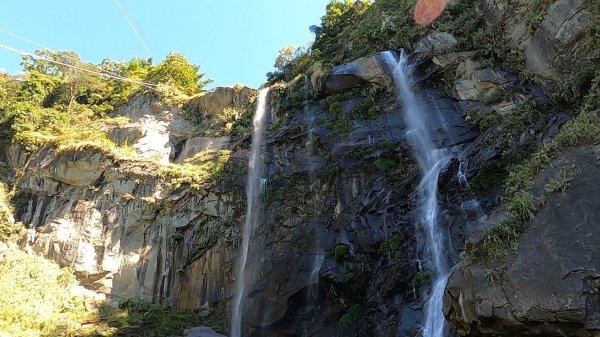 瀑高100公尺超壯觀 「草嶺蓬萊瀑布」步道小而美、親子踏青新選項