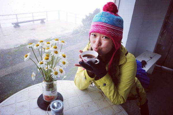 全台最高咖啡館-玉山北峰