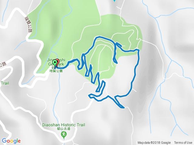 金瓜石地質公園、本山礦場2018.09.30