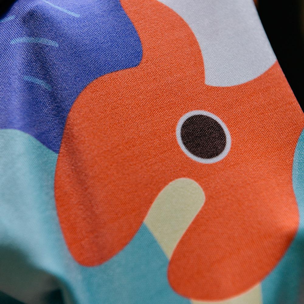 【BIJI】鎖住涼感 戶外運動巾 M款(台灣製、抗UV)8