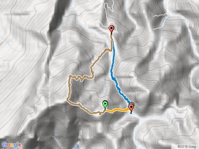風美溪上加里山