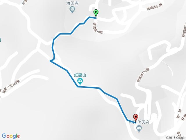 永嘉景觀步道(紅龍山)