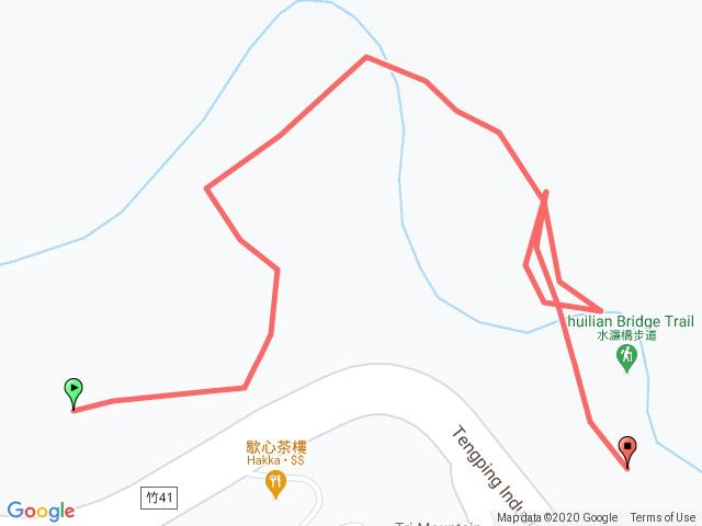 跟著寶寶漫步參山水濂橋步道(獅頭山風景區)202010171008