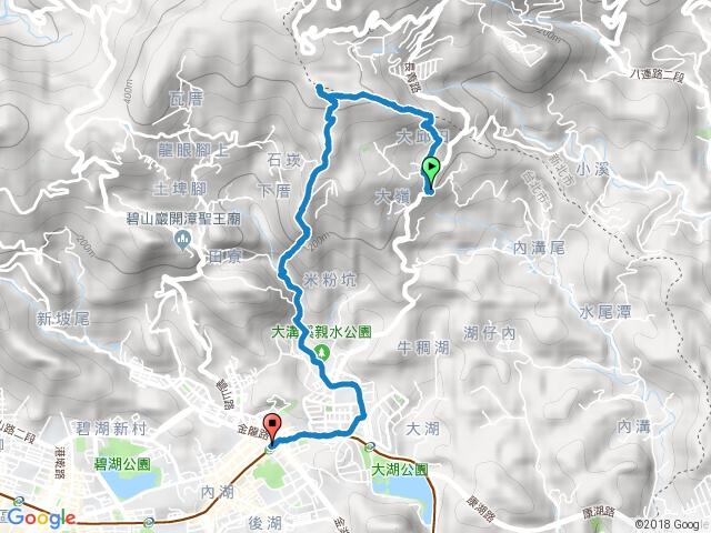 20170212大邱田山、白石湖山、開眼山