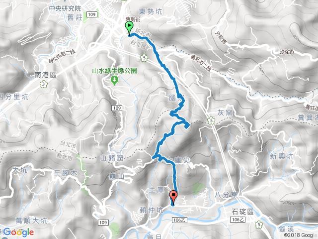 土庫岳(深坑上下)
