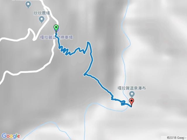 嘎拉賀野溪溫泉步道