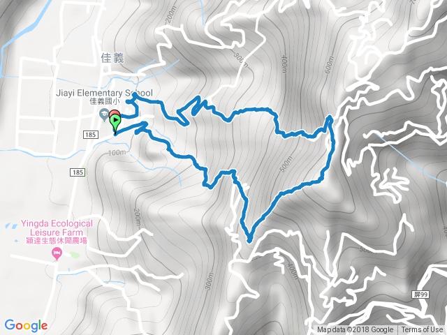 笠頂山登山步道