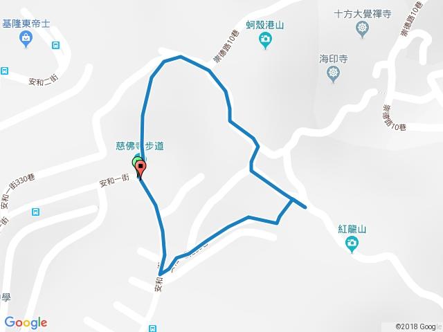 慈佛寺步道