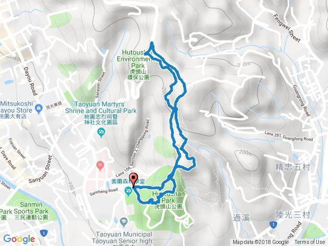 20180526 虎頭山健行