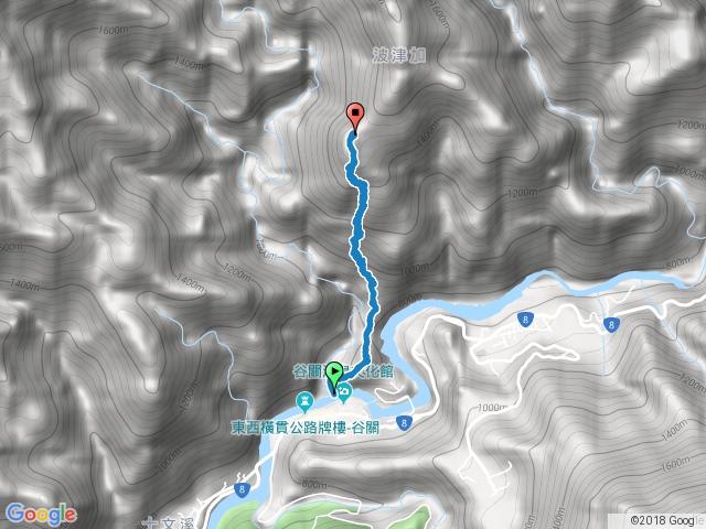 谷關七雄之波津加山2.5k