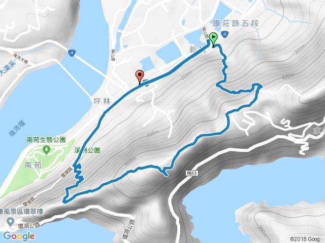 福山巖-新溪洲山步道