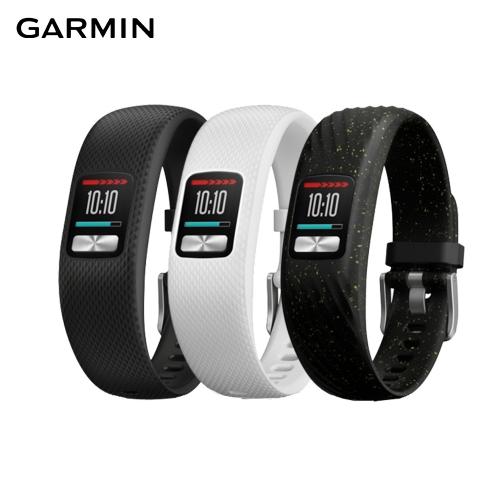 【GARMIN】纖薄靈巧 vivofit 4 健身運動手環(每日天氣顯示、游泳等級防水)2